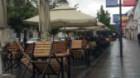 Ploaia nu i-a împiedicat pe clujeni să ajungă la terasele din oraş