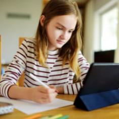 Lecții exclusiv online în 14 unități de învățământ preuniversitar din Cluj