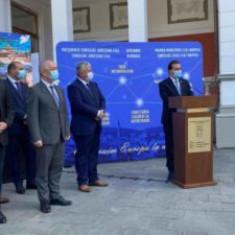 """Orban, la Cluj: """"Avem un angajament clar, ca în parteneriat cu Primăria și Consiliul Județean Cluj să susținem proiecte extrem de importante"""""""