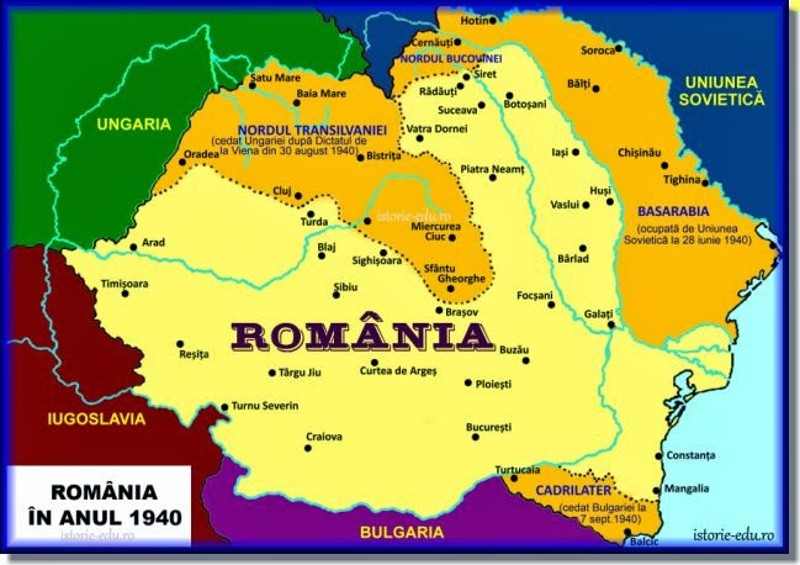 Sfasierea Romaniei Cer Si Pamant Romanesc
