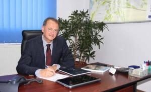 cristian matei - director general la compania de apa aries