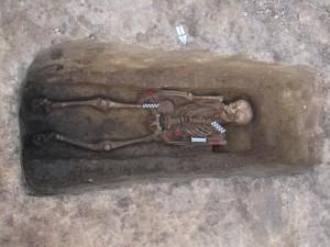 mormant de inhumatie