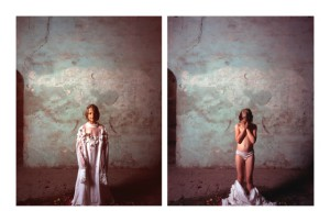 Nicola Vinci,Il Fiume,2011, print true giclèe mounted on dibond, Edition 2 example, ex. nr. 12, diptych, 100x80 cm each one